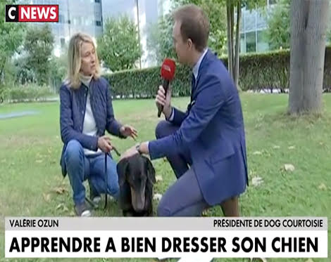 Dog Courtoisie sur CNews septembre 2018